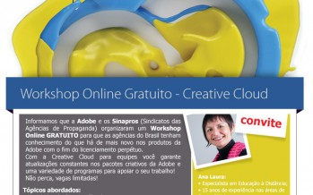 Sinapro – MG e ADOBE promovem evento On Line